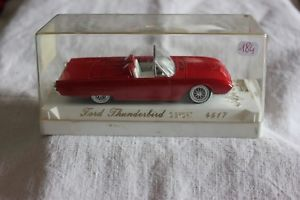 【送料無料】模型車 モデルカー スポーツカーミニチュア#フォードサンダーバードスポーツminiature vehicles 184 ford thunderbird g sport