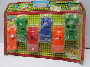 【送料無料】模型車 モデルカー スポーツカーブリスタープラスチックイタリアblister 6 car plastic prb italy