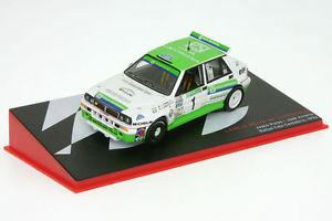 【送料無料】模型車 モデルカー スポーツカーランチアデルタカンタブリアアル143 lancia delta hf integrals puras rallye caja cantabria 1992 al 1992cc01es