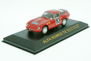 【送料無料】模型車 モデルカー スポーツカーアルファロメオクーペアルプ143 xjc024 alfa romeo tz rolland rallye coupe d alpes