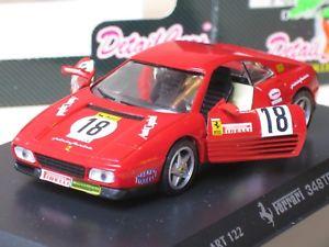 【送料無料】模型車 モデルカー スポーツカーフェラーリ#deteil cars 143 ferrari 348 tb raicing 18 ovp