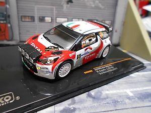 【送料無料】模型車 モデルカー スポーツカーシトロエンモンツァカペッロネットワークcitroen ds3 wrc monza 2011 5 capello total nightversion sp ixo 143