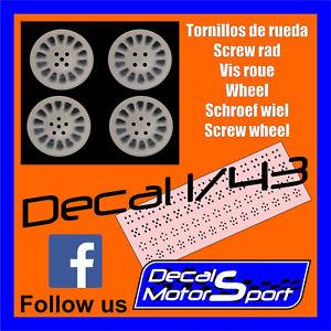 【送料無料】模型車 モデルカー スポーツカーミセスホイールcrush 143 tornillos de ruedascrew radvis mrsschroef wielscrew wheel