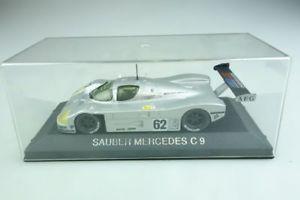 【送料無料】模型車 モデルカー スポーツカーモデルメルセデスベンツザウバーシュレッサーレーシングボックスmax models 143 mercedes benz sauber c 9 schlesser racing cars with box 508234