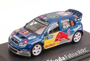 【送料無料】模型車 モデルカー スポーツカーシュコダファビアドイツラリーskoda fabia wrc evo ii n 12 redbull germany rally 2006 abrex 143 ab601ta m