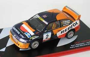 【送料無料】模型車 モデルカー スポーツカーシートコルドバラリーナバラデティエラ143 seat cordoba wrc rally navarra de tierra 2001