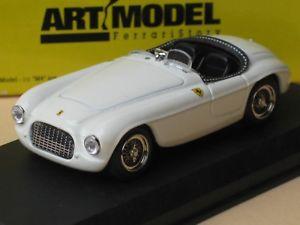 【送料無料】模型車 モデルカー スポーツカーアートモデルフェラーリスパイダービアンカホワイトアートart model 143 ferrari 166 mm spyder bianca white weis art006 ovp