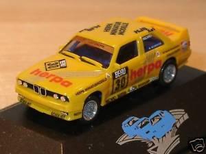 【送料無料】模型車 モデルカー スポーツカー#herpa bmw m3 neumeister yellow, 30 pc 187