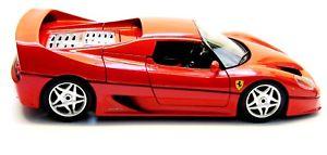【送料無料】模型車 モデルカー スポーツカーフェラーリキャビネットferrari f50 1995 bburango,, red, 118 cabinet, blank without ovp
