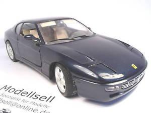【送料無料】模型車 モデルカー スポーツカーフェラーリスケールモデルカーferrari 456gt 1992 von burago scale of measurement 118 model car