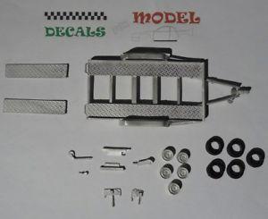 【送料無料】模型車 モデルカー スポーツカーキットカートcar kit 143 cart