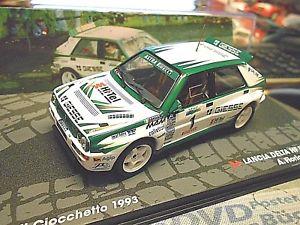 【送料無料】模型車 モデルカー スポーツカーランチアデルタラリーイタリア#ネットワークアルlancia delta integrale hf rallye 1993 italy 1 fiorio giesse spreis ixo al 143