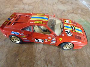 【送料無料】模型車 モデルカー スポーツカーカーコレクションフェラーリスケールcar collection ferrari gto 1984, 118 scale