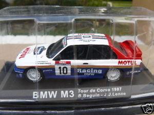 【送料無料】模型車 モデルカー スポーツカーツールドコルスbmw m 3 tour de corse 1987