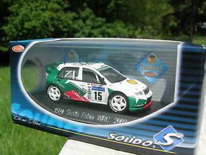 【送料無料】模型車 モデルカー スポーツカーシュコダファビアsolido 143 metal skoda fabia wrc 2003 1591