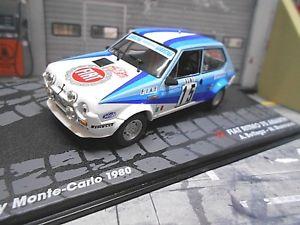 【送料無料】模型車 モデルカー スポーツカーフィアットアバルトラリーモンテカルロ#ネットワークfiat 75 abarth ritmo rally monte carlo wm 1980 15 bettega sp ixo altaya 143
