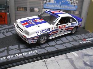 【送料無料】模型車 モデルカー スポーツカーオペルマンタラリーコルシカネットワークopel manta 400 rally tdc corse frequelin 1983 rothm ixo altaya rare sp 143