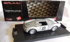 【送料無料】模型車 モデルカー スポーツカーポルシェスパイダー#ルマンbrumm 143 porsche 550 1500rs spyder 49 24h le mans 1955 cod r194