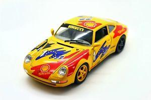 【送料無料】模型車 モデルカー スポーツカーポルシェカレラ118 bburago porsche 911 carrera 1993