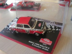【送料無料】模型車 モデルカー スポーツカーラリーセリエ143 car eme simca 1000 rally 1973 serie 14