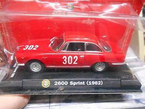 【送料無料】模型車 モデルカー スポーツカーアルファロメオスプリントボローニャ#バルディパッソデッラalfa romeo 2600 sprint bologna 302 baldi passo della raticosa 1968 m4 143