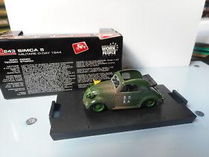 【送料無料】模型車 モデルカー スポーツカーsimca brumm 143 5 r 243brumm simca 143 5r243