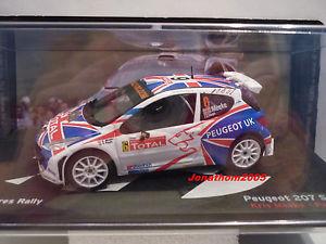 【送料無料】模型車 モデルカー スポーツカープジョー#ベルギーイープルラリーpeugeot 207 s2000 6 belgium ypres rally 2009meekenagle, the 143