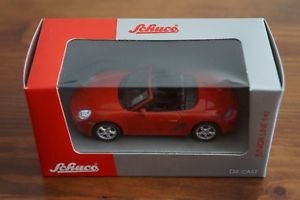 【送料無料】模型車 モデルカー スポーツカーポルシェボクスターレッドボックスschuco porsche boxster red 143 box