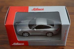 【送料無料】模型車 モデルカー スポーツカーポルシェクーペグレーボックスschuco porsche 911 997 coupe grey 143 box