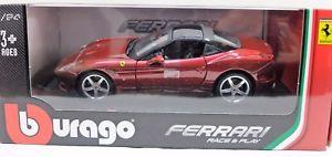 【送料無料】模型車 モデルカー スポーツカーモデルカーフェラーリカリフォルニアモデルミニアチュアmodel car ferrari california t burago bburago 124 car model miniatures