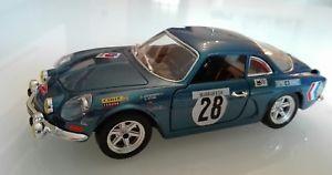 【送料無料】模型車 モデルカー スポーツカールノーアルパインラリーモンテカルロbburago 124 renault alpine 110 rally monte carlo