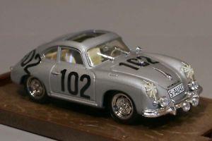 【送料無料】模型車 モデルカー スポーツカーポルシェクーペタルガフロリオbrumm r144porsche 356 coupe targa florio 143 boxed