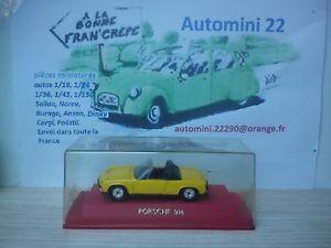 【送料無料】模型車 モデルカー スポーツカーポルシェイエローveremsolido 143 porsche 914 yellow
