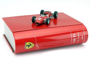 【送料無料】模型車 モデルカー スポーツカーサーティースフェラーリ#グランプリイタリアネットワークj surtees ferrari 158 2 campen del mundo gp italia frmula 1 1964 143 ixo