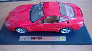 【送料無料】模型車 モデルカー スポーツカーフェラーリマラネロferrari 550 maranello maisto