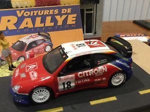【送料無料】模型車 モデルカー スポーツカーシトロエンクサラローブラリーカーcitroen xsara wrc loeb limited edition rally cars 143