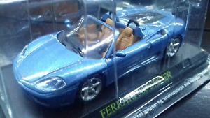 【送料無料】模型車 モデルカー スポーツカーモデルフェラーリスパイダースケールmodel ferrari 360 spider scale 143