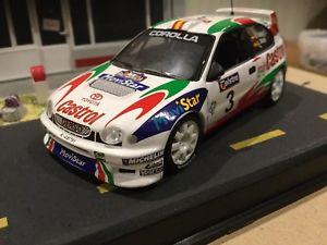 【送料無料】模型車 モデルカー スポーツカートヨタカローララリーカーtoyota corolla wrc limited edition rally cars 143