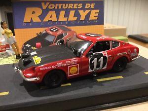 【送料無料】模型車 モデルカー スポーツカーダットサンラリーdatsun 240 z limited edition rally cars 143