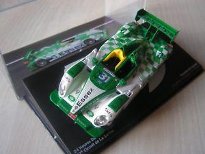 【送料無料】模型車 モデルカー スポーツカーレースカーポルシェスパイダールマンセリエ143 race car porche rs spider 2009 24 hours of le mans serie 9