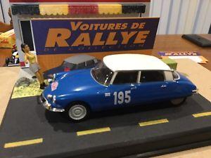 【送料無料】模型車 モデルカー スポーツカーシトロエンラリーカーcitroen ds 21 limited edition rally cars 143