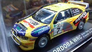 【送料無料】模型車 モデルカー スポーツカーモデルシートラリースケールmodel seat wrc rally safari 2000 143 scale
