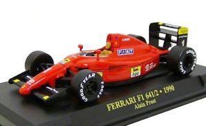 【送料無料】模型車 モデルカー スポーツカーフェラーリ#プロストボックス f1 1990ferrari 6412  1 a prost 143 in display box