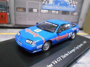 【送料無料】模型車 モデルカー スポーツカールノーアルパインターボユーロップカップスピーディ#レーシングアシェットrenault alpine v6 gt turbo 1985 europ cup speedy 1 racing hachette eligor 143