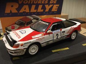 【送料無料】模型車 モデルカー スポーツカートヨタセリカグアテマララリーカーtoyota celica gt 4 limited edition of 143 rally cars