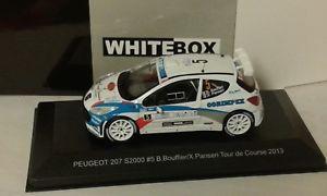 【送料無料】模型車 モデルカー スポーツカープジョーコルシカ#;whitebox peugeot 207 s2000 corsica039;13 bouffier