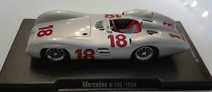 【送料無料】模型車 モデルカー スポーツカーブランドメルセデススケールbrand rba mercedes w196 1954 scale 143