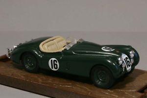 【送料無料】模型車 モデルカー スポーツカージャガールマンbrumm r104jaguar xk120 le mans 1950 143 boxed