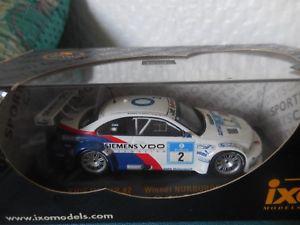 【送料無料】模型車 モデルカー スポーツカー#ニュルブルクリンクネットワーク143 bmw m3 gtr 2 winner 24h nurburgring 2005 ixo