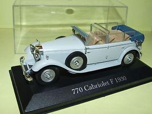 【送料無料】模型車 モデルカー スポーツカーメルセデス770f 1930 ixo143 g7mercedes 770 cabriolet f 1930 ixo 143 g7